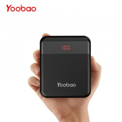 Yoobao M4Q 10000mAh Powerbank Quick Charge 3.0 Power Bank External Battery Portable Charger Support Huawei Fast Charge Mini Size