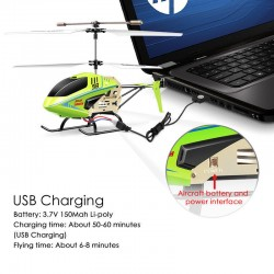 Syma S8 3CH RC Helicopter with Gyro Raido Remote Control Mini Aircraft