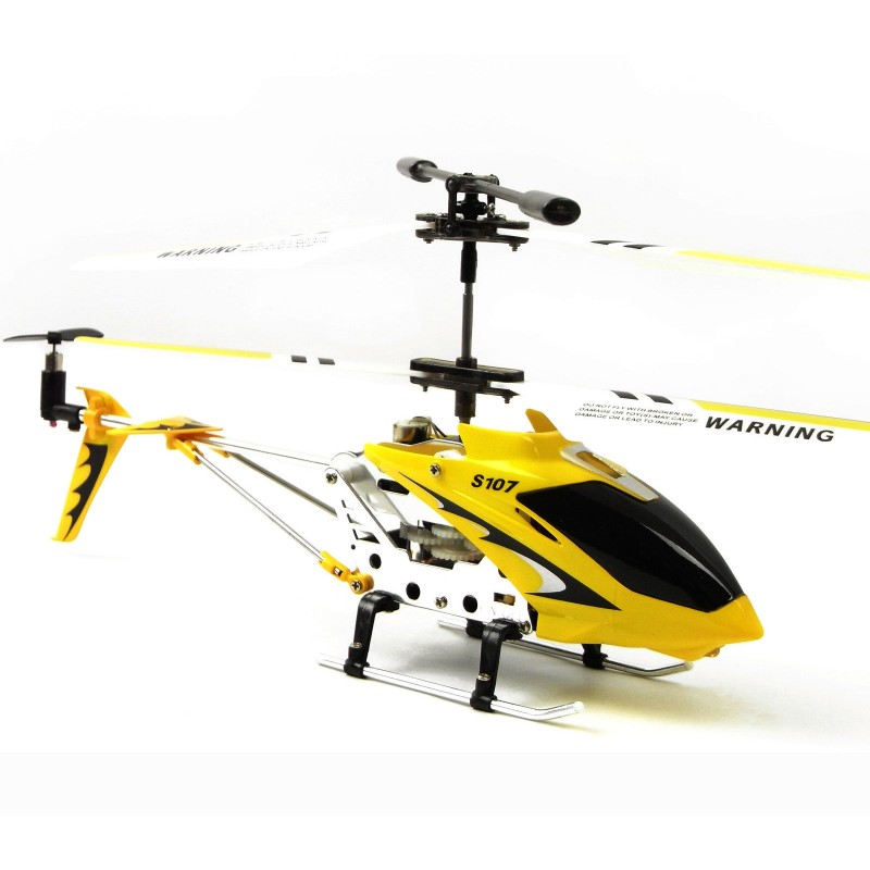 Cheerwing S107g Rc Helicopter 3 5ch Mini Metal Remote Control Gyro Kids Gift